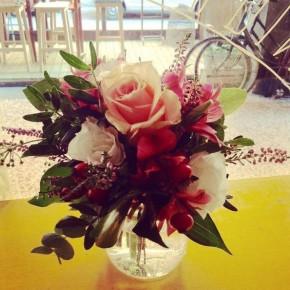 Piccolo bouquet colorato
