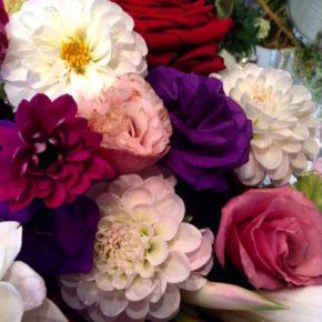 Bouquet Dhalia